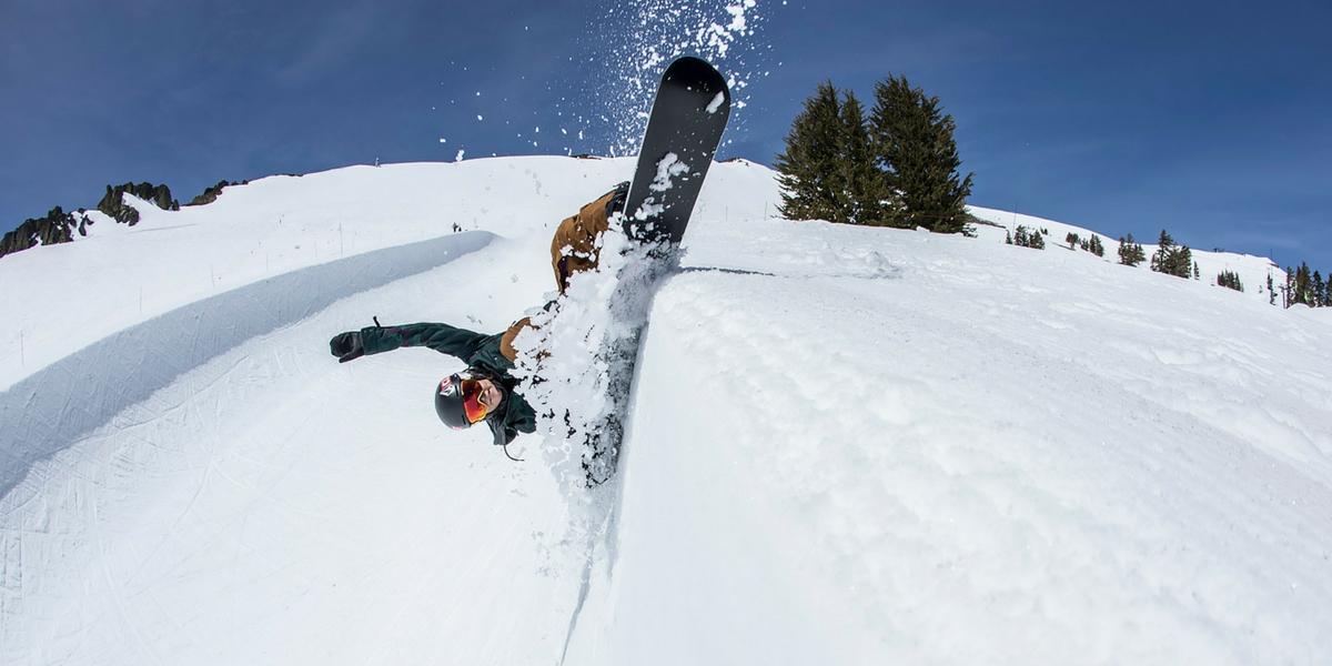 summer snowboarding
